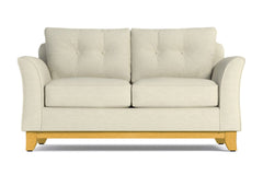 Marco Twin Size Sleeper Sofa :: Leg Finish: Natural / Sleeper Option: Memory Foam Mattress