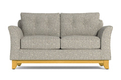Marco Apartment Size Sleeper Sofa :: Leg Finish: Natural / Sleeper Option: Deluxe Innerspring Mattress