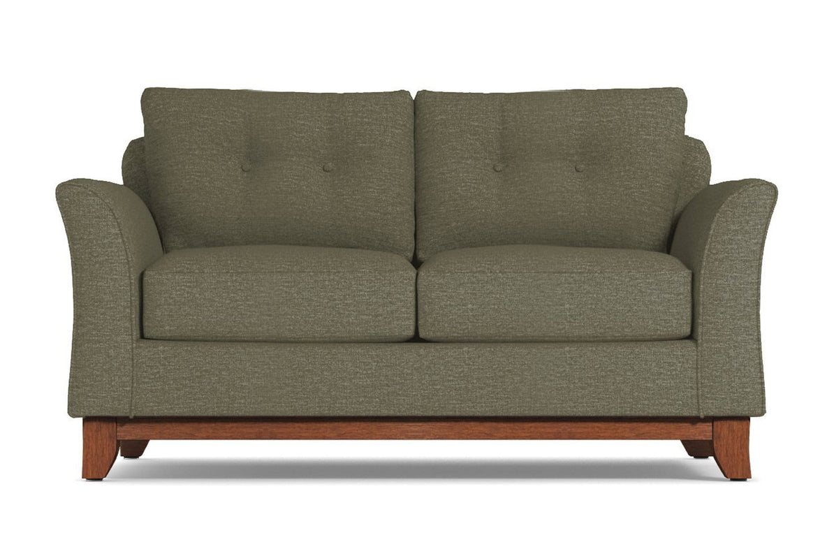 Marco Apartment Size Sofa :: Leg Finish: Pecan / Size: Apartment Size - 74\