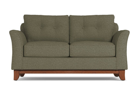 Marco Loveseat :: Leg Finish: Pecan / Size: Loveseat - 60