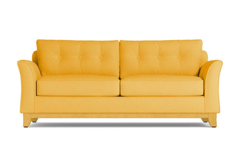 Marco Queen Size Sleeper Sofa :: Leg Finish: Natural / Sleeper Option: Deluxe Innerspring Mattress