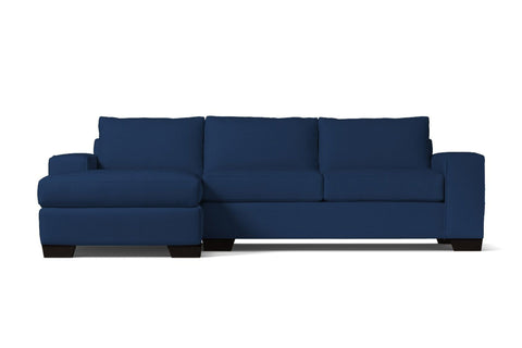 Melrose 2pc Sectional Sofa :: Leg Finish: Espresso / Configuration: LAF - Chaise on the Left