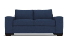 Melrose Apartment Size Sleeper Sofa :: Leg Finish: Espresso / Sleeper Option: Deluxe Innerspring Mattress