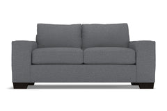 Melrose Apartment Size Sleeper Sofa :: Leg Finish: Espresso / Sleeper Option: Memory Foam Mattress