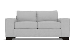 Melrose Twin Size Sleeper Sofa :: Leg Finish: Espresso / Sleeper Option: Memory Foam Mattress