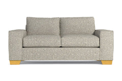"Melrose Loveseat :: Leg Finish: Natural / Size: Loveseat - 68""w"
