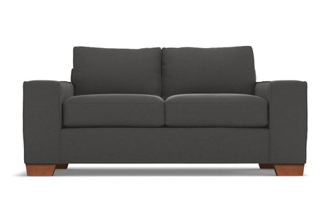 Melrose Apartment Size Sofa :: Leg Finish: Pecan / Size: Apartment Size - 80