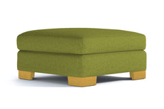 Melrose Large Ottoman :: Leg Finish: Natural