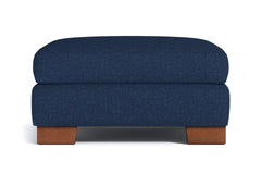 Melrose Large Ottoman :: Leg Finish: Pecan