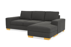 Melrose Reversible Chaise Sofa :: Leg Finish: Natural