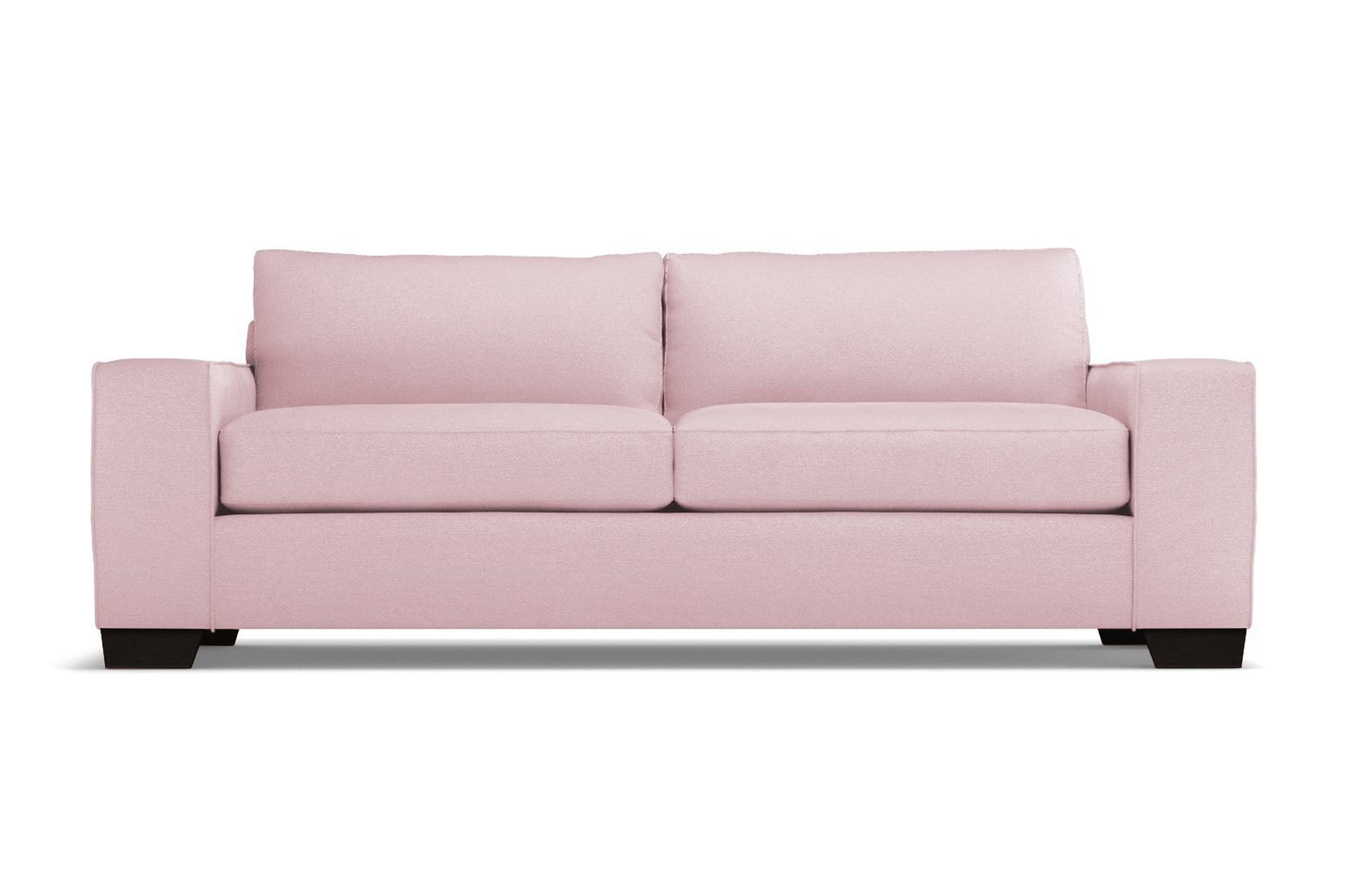 Melrose Sofa - Pink Velvet - Modern Couch Made in the USA - Sold by Apt2B