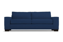 Melrose Queen Size Sleeper Sofa :: Leg Finish: Espresso / Sleeper Option: Deluxe Innerspring Mattress