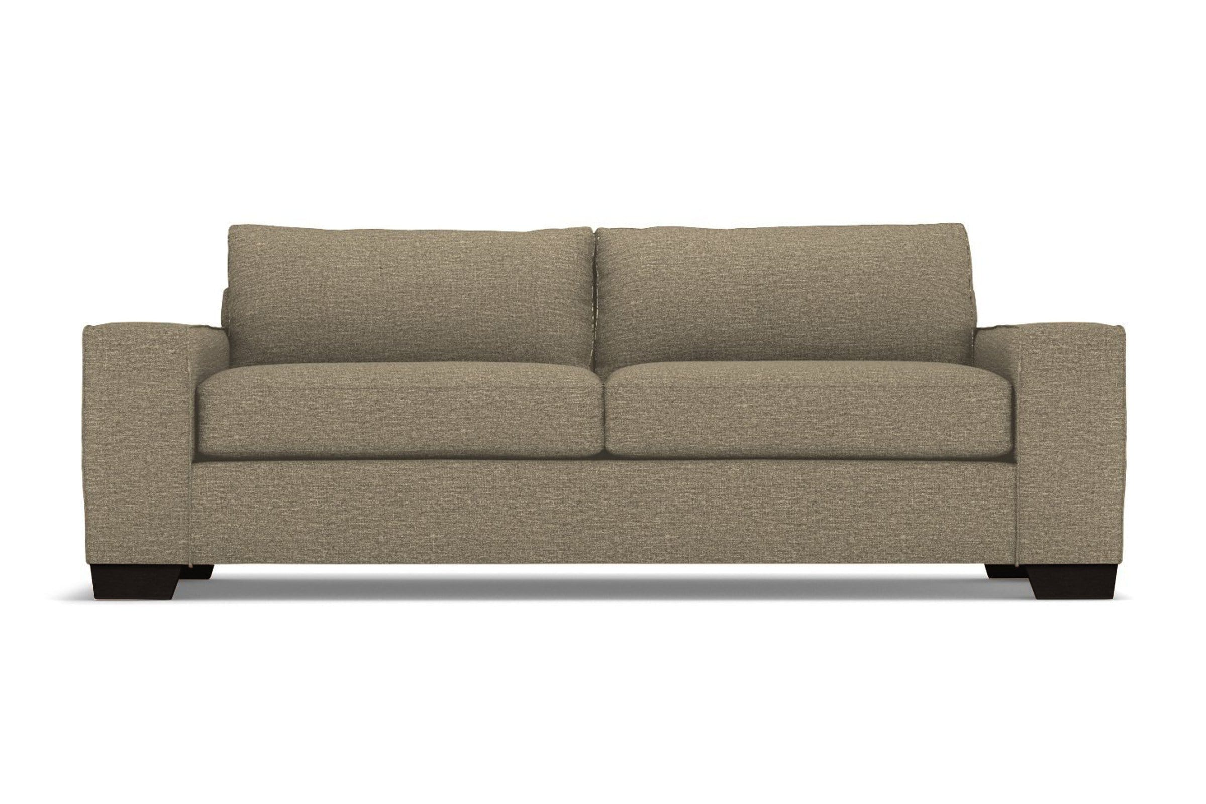 Melrose Sofa - Taupe QUICK SHIP - Modern Couch Made in the USA - Sold by Apt2B