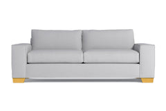 Melrose Queen Size Sleeper Sofa :: Leg Finish: Natural / Sleeper Option: Deluxe Innerspring Mattress