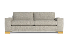 Melrose Queen Size Sleeper Sofa :: Leg Finish: Natural / Sleeper Option: Memory Foam Mattress