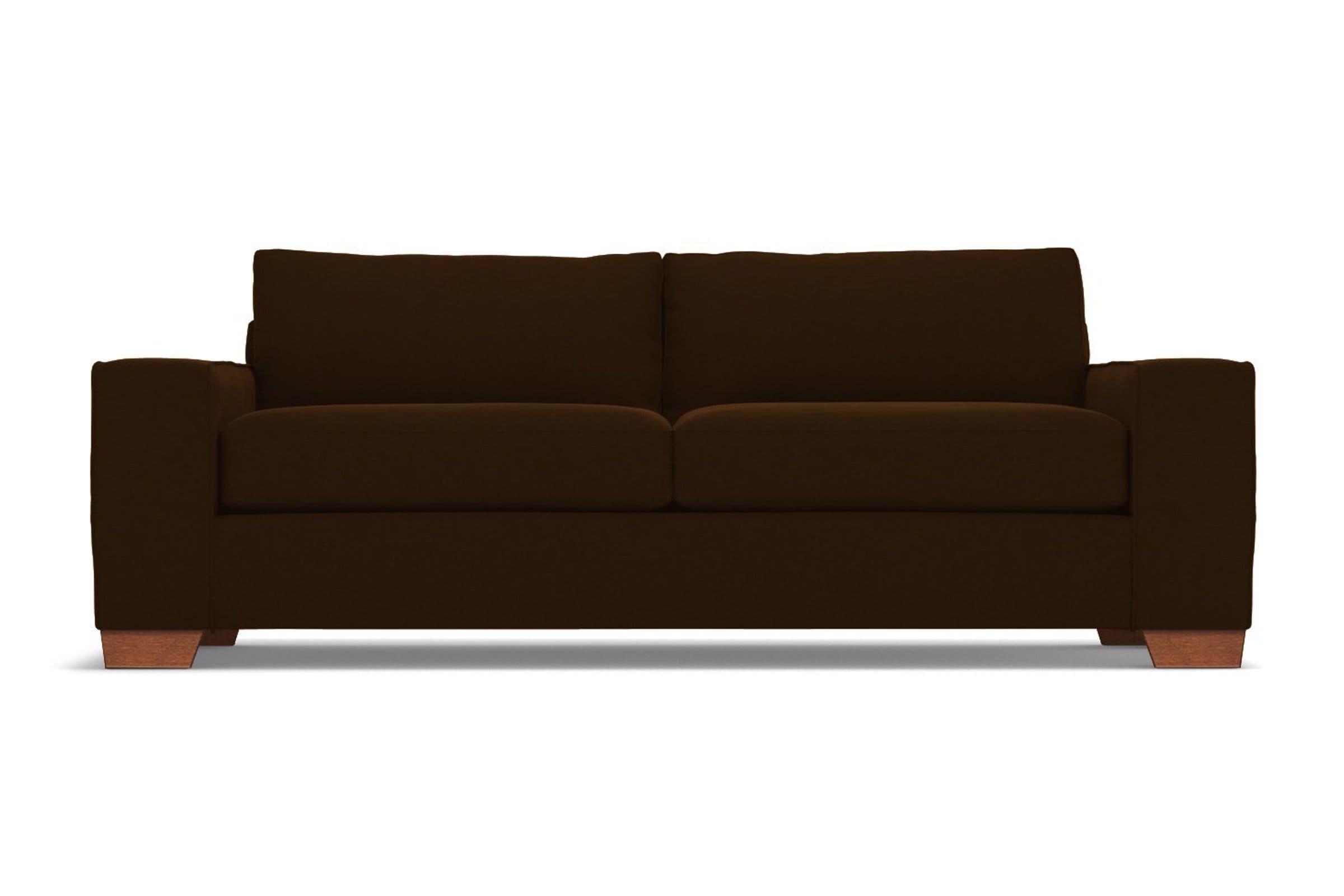 Melrose Sofa - Brown - Modern Couch Made in the USA - Sold by Apt2B