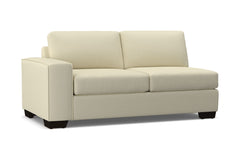 Melrose Left Arm Apartment Size Sofa :: Leg Finish: Espresso / Configuration: LAF - Chaise on the Left