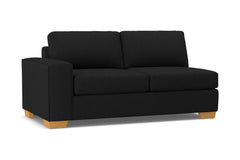 Melrose Left Arm Apartment Size Sofa :: Leg Finish: Natural / Configuration: LAF - Chaise on the Left