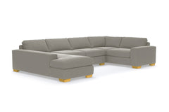 Melrose 3pc Sectional Sofa :: Leg Finish: Natural / Configuration: LAF - Chaise on the Left
