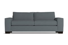 Melrose Queen Size Sleeper Sofa :: Leg Finish: Espresso / Sleeper Option: Memory Foam Mattress