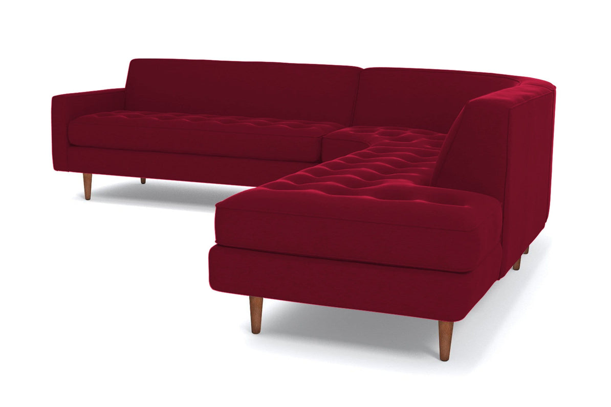 Monroe 3pc Sectional Sofa - Choice of Fabrics - Apt2B