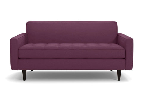 Monroe Loveseat :: Leg Finish: Espresso / Size: Loveseat - 56