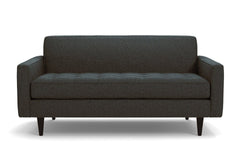 "Monroe Loveseat :: Leg Finish: Espresso / Size: Loveseat - 56""w"