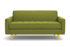 "Monroe Apartment Size Sofa :: Leg Finish: Natural / Size: Apartment Size - 68""w"