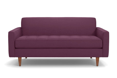 Monroe Apartment Size Sofa :: Leg Finish: Pecan / Size: Apartment Size - 68