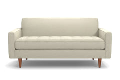 "Monroe Loveseat :: Leg Finish: Pecan / Size: Loveseat - 56""w"