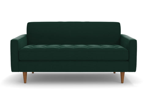 Monroe Loveseat :: Leg Finish: Pecan / Size: Loveseat - 68