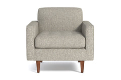 Monroe Chair :: Leg Finish: Pecan