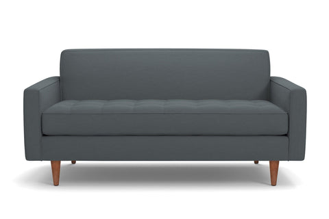 Monroe Loveseat :: Leg Finish: Pecan / Size: Loveseat - 56