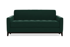 Monroe Drive Twin Size Sleeper Sofa :: Leg Finish: Espresso / Sleeper Option: Deluxe Innerspring Mattress