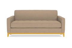 "Monroe Drive Apartment Size Sofa :: Leg Finish: Natural / Size: Apartment Size - 68""w"
