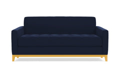 Monroe Drive Twin Size Sleeper Sofa :: Leg Finish: Natural / Sleeper Option: Memory Foam Mattress