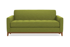 "Monroe Drive Loveseat :: Leg Finish: Pecan / Size: Loveseat - 56""w"