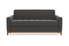 "Monroe Drive Apartment Size Sofa :: Leg Finish: Pecan / Size: Apartment Size - 68""w"