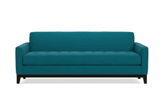 Monroe Drive Queen Size Sleeper Sofa :: Leg Finish: Espresso / Sleeper Option: Memory Foam Mattress