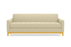 Monroe Drive Queen Size Sleeper Sofa :: Leg Finish: Natural / Sleeper Option: Memory Foam Mattress