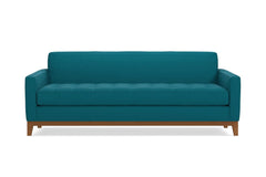 Monroe Drive Queen Size Sleeper Sofa :: Leg Finish: Pecan / Sleeper Option: Deluxe Innerspring Mattress