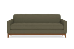 Monroe Drive Queen Size Sleeper Sofa Sofa :: Leg Finish: Pecan / Sleeper Option: Deluxe Innerspring Mattress
