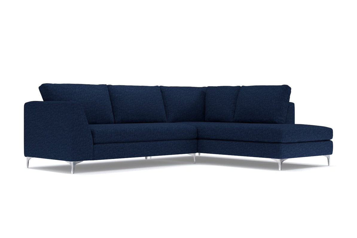 Mulholland 2pc Sectional Sofa - USA Made Modern Apartment Sectionals ...