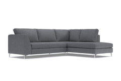 Mulholland 2pc Sectional Sofa :: Configuration: RAF - Chaise on the Right