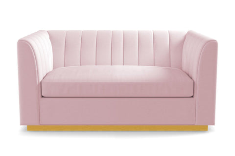 Nora Apartment Size Sofa :: Leg Finish: Natural / Size: Apartment Size - 74