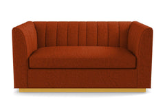 "Nora Apartment Size Sofa From Kyle Schuneman :: Leg Finish: Natural / Size: Apartment Size - 74""w"