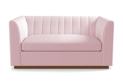 Nora Loveseat From Kyle Schuneman :: Leg Finish: Pecan / Size: Loveseat - 62