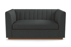 "Nora Loveseat From Kyle Schuneman :: Leg Finish: Pecan / Size: Loveseat - 62""w"