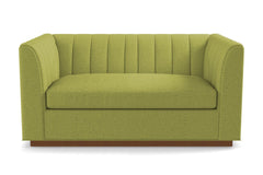 "Nora Apartment Size Sofa From Kyle Schuneman :: Leg Finish: Pecan / Size: Apartment Size - 74""w"