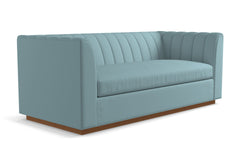 Nora Queen Size Sleeper Sofa From Kyle Schuneman :: Leg Finish: Pecan / Sleeper Option: Memory Foam Mattress